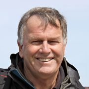 Portrait photo of experienced Auswalk Guide Bill Coutts walking the Larapinta Trail