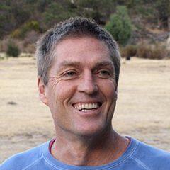 Auswalk owner Brett Neagle guiding on the Great Ocean Walk