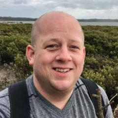 Auswalk Strategy Director Magnus Nilsson hiking at Wilsons Prom