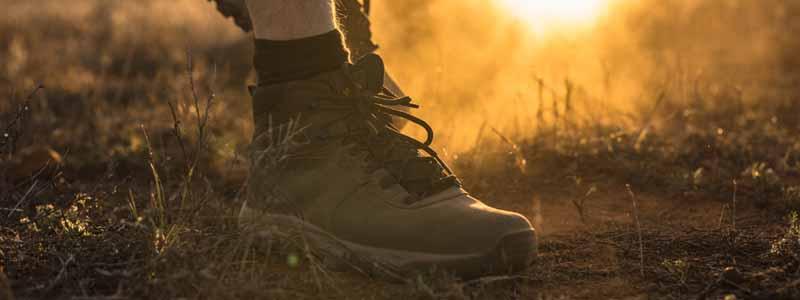 Blister free feet on a hike