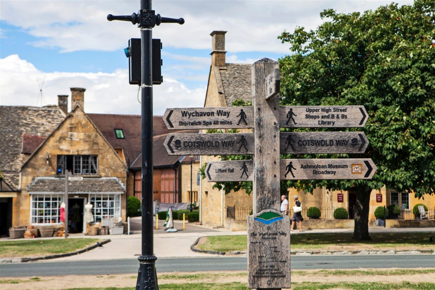 Town of Broadway in the Cotswold