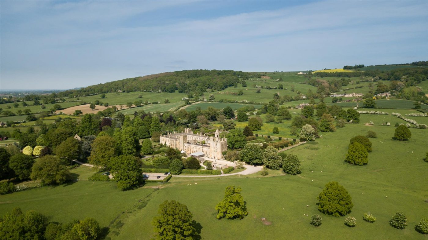 Sudeley Castle on the Cotswold Way