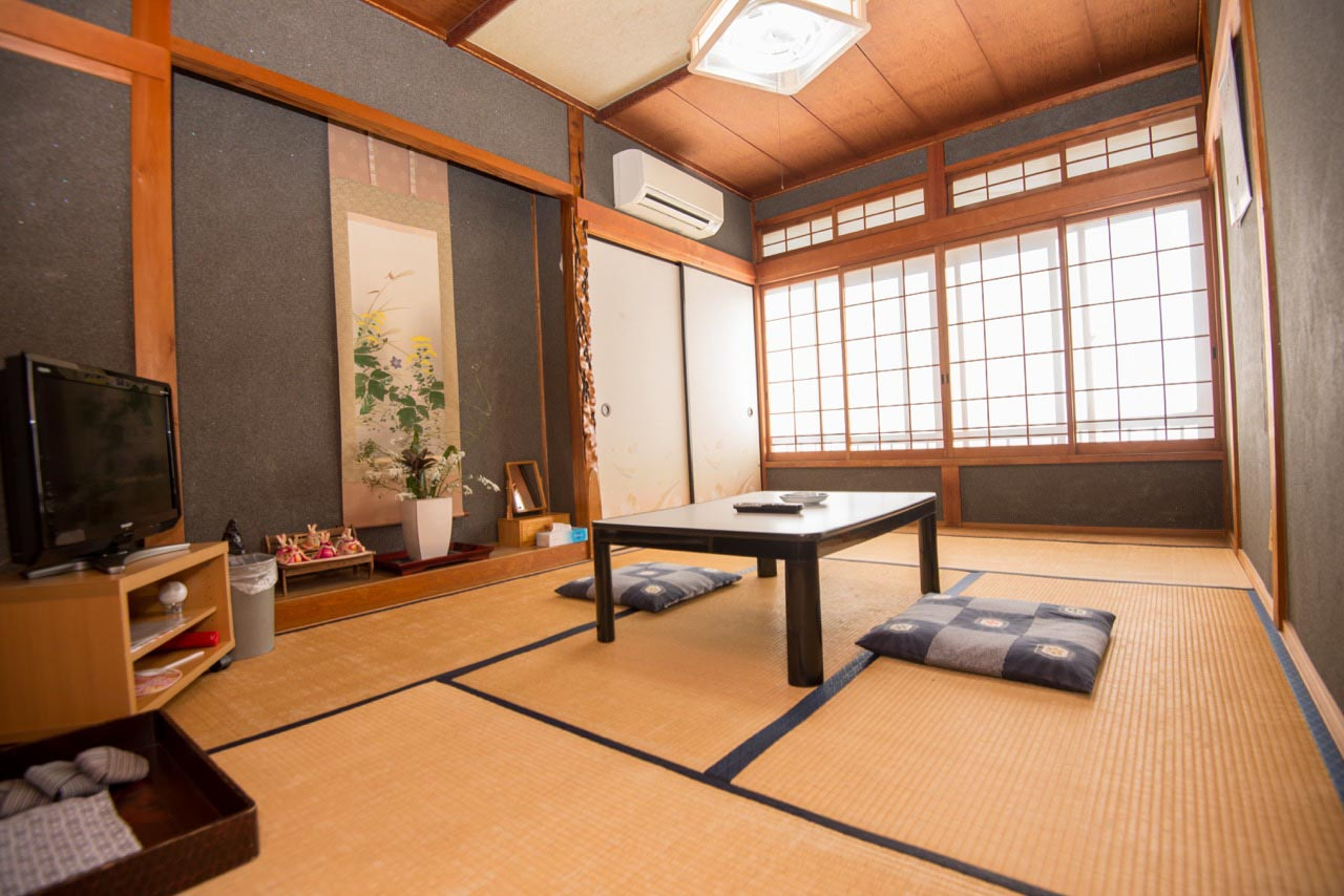 Stay in traditional Japanese accommodations on the Kumano Kodo